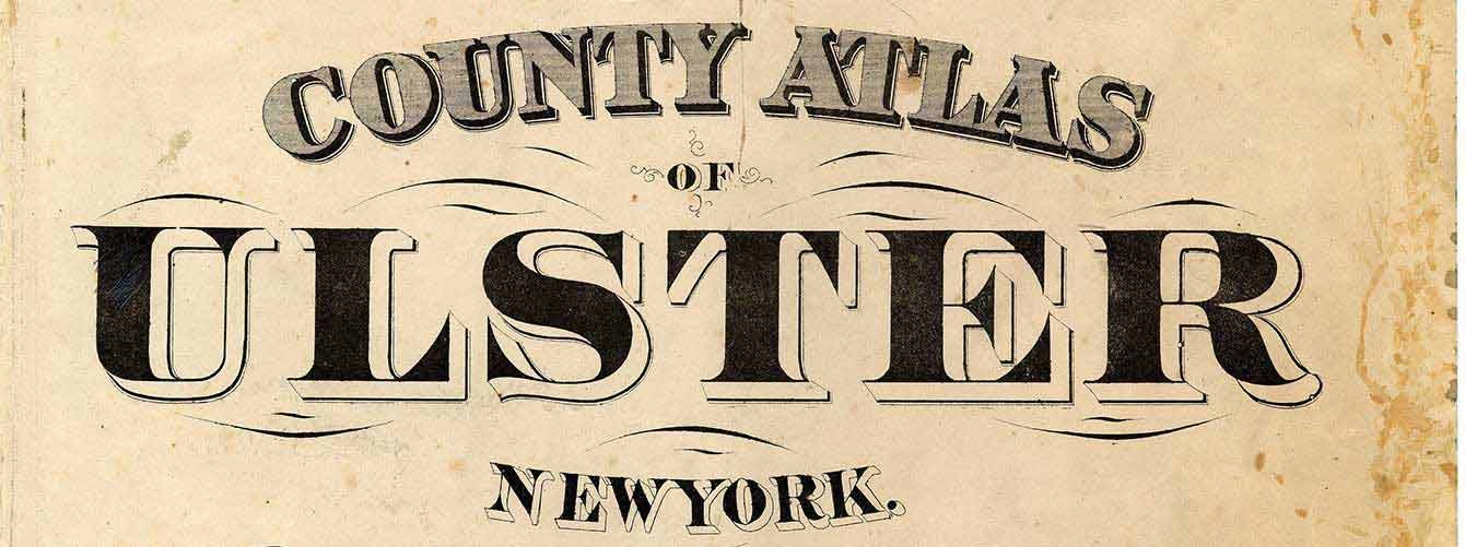 1875 Beers Atlas of Ulster County