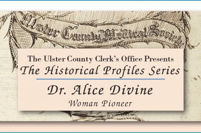 Dr. Alice Divine, Woman Pioneer